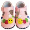 Chaussures bébé premiers pas cuir souple Babies CHENILLE