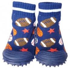 Calcetines con suela antideslizante para niños   Globos de deporte