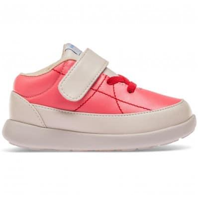 Little Blue Lamb - Soft sole girls toddler kids baby shoes OG | Pink sneakers