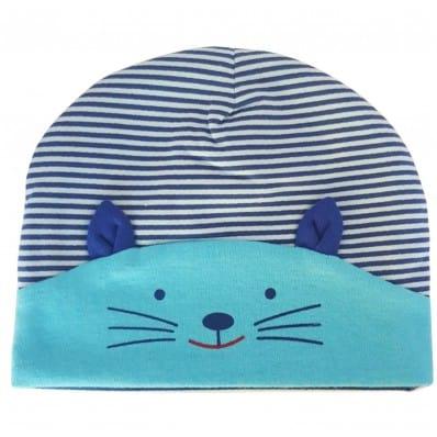 C2BB - Capo del bebé gatito - Talla única | Azul claro