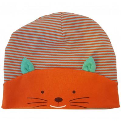 C2BB - cappello del bambino gattino - one size   Arancio blu