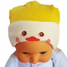 C2BB - Reversibel-Baby-Hut - eine Größe | Ente