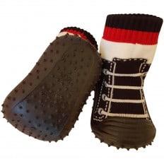 Scarpine calzini antiscivolo bambini - ragazzo | Nero