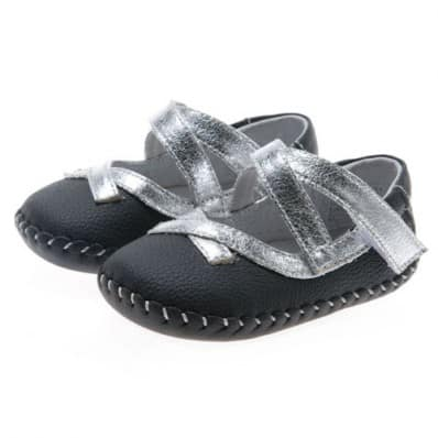 http://cdn2.chausson-de-bebe.com/721-thickbox_default/little-blue-lamb-baby-girls-first-steps-soft-leather-shoes-black-and-silver-ceremony.jpg