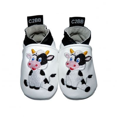 Soft leather baby shoes boys | Cow