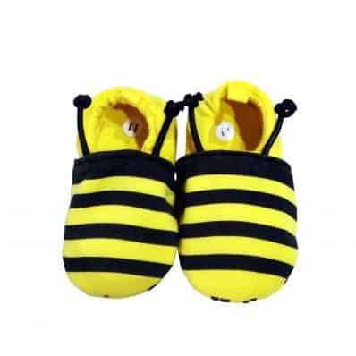Soft cotton baby girls shoes | Bee