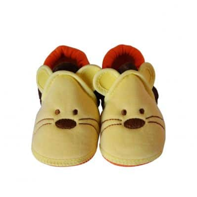 Soft cotton baby girls shoes | Tiger