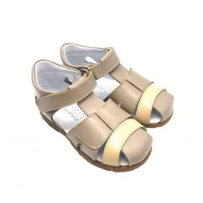 Chaussures semelle souple sandales fermées MIEL