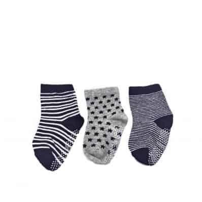 Lot de chaussettes antidérapantes SOURIS