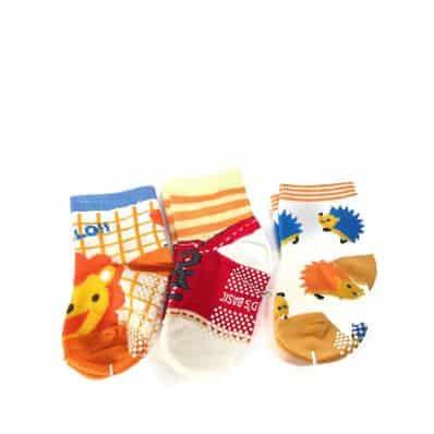 3 pairs of girls anti slip baby socks children from 1 to 3 years old   item 19