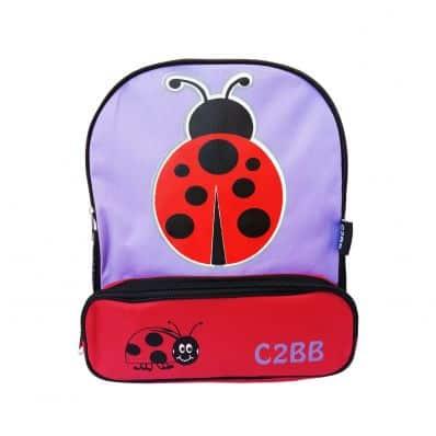 C2BB - Zaino scuola per bambini cartella regazza | Coccinella