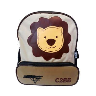 C2BB - Boys children backpack schoolbag | Lion