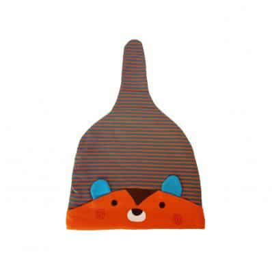 C2BB - Baby hat Raccoon - one size | Orange