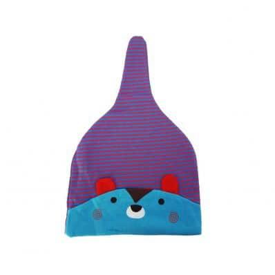 C2BB - Waschbär- Baby-Hut - eine Größe | Lila