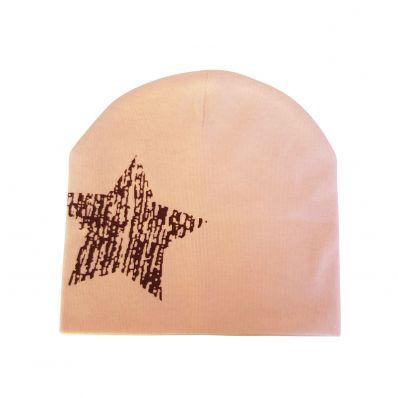 C2BB - cappello del bambino - one size   Rosa stella marrone