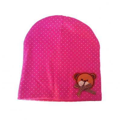 Bonnet OURSON PINK