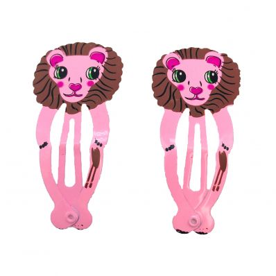 Lot de barrettes LION
