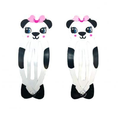 Lot de barrettes PANDA