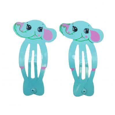 Lot de barrettes ELEPHANT