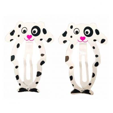 Lot de barrettes DALMATIEN