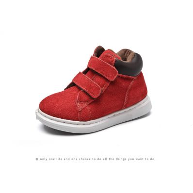 Little Blue Lamb - Soft sole girls Toddler kids baby shoes   Purple pink velvet sneakers