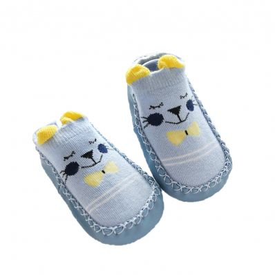 Soft cotton baby girls shoes   Miss ladybird