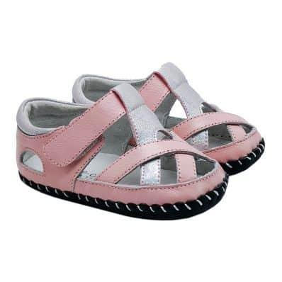 sandales semelles souples fermées Girly C2BB - chaussons, chaussures, chaussettes pour bébé