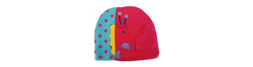 Bonnets bébé - Girafe à pois